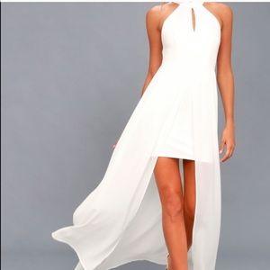 White, lulus, size medium